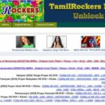 TamilRockers Proxy and Mirror Sites and Unblocked-2021
